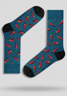Pánské ponožky John Frank JFLSFUN05 UNI Ocean