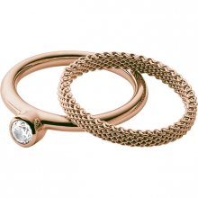 Skagen Sada dvou prstenů SKJ0852791 49 mm