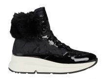 GEOX Dámské kotníkové boty D Backsie B Abx Black D94FPA-0FUHH-C9999 37