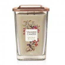 Yankee Candle Aromatická svíčka velká hranatá Velvet Woods 552 g