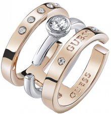 Guess Stylový bicolor prsten UBR84044 58 mm
