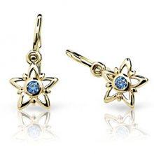 Cutie Jewellery Dětské náušnice C1996-10-X-1 fuchsiová