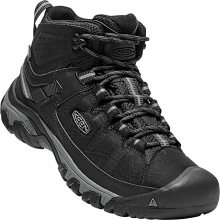 KEEN Pánské kotníkové boty Targhee Exp Mid Wp M Black/Steel Grey 43