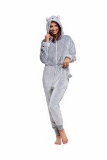Henderson Ladies Overal Honey 37668-09X světle šedé Dámské pyžamo M světle šedá