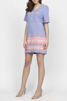 Košile GANT O2. STRIPED CHAMBRAY TUNIC