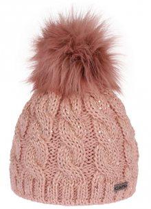 CAPU Zimní čepice 396-D Pink