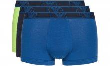 Boxerky 3 ks Emporio Armani | Modrá Zelená | Pánské | S
