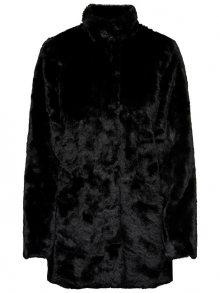 ONLY Dámský kabát ONLVIDA FAUX FUR COAT OTW Black S