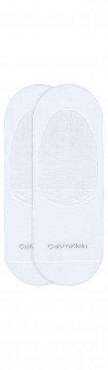 Ponožky 2 páry Calvin Klein | Bílá | Pánské | 39-42