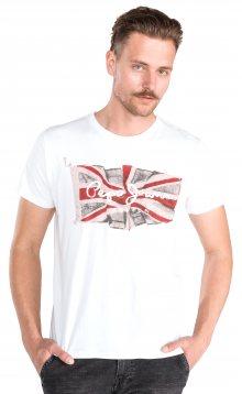 Flag Triko Pepe Jeans | Bílá | Pánské | XXL