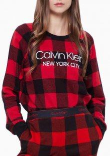 Dámská mikina Calvin Klein QS6301 L Červená