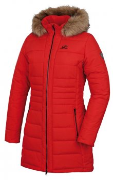 Hannah Dámský kabát MEX high risk red 34