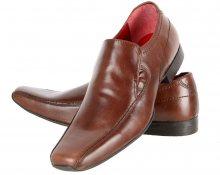 Pánská kožená společenská obuv Red Tape Leek