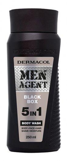 Dermacol Sprchový gel pro muže 5v1 Black Box Men Agent (Body Wash) 250 ml