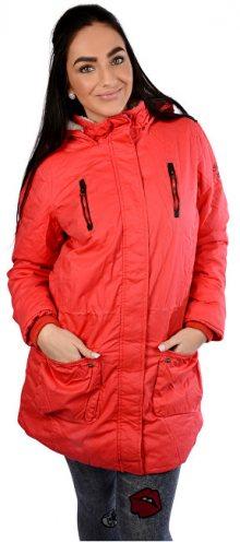 Cars Jeans Dámská červená bunda Tummy Red 4866460 S