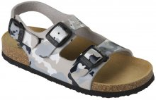 Scholl Dětské sandále Air Bag B/S Kid Bioprint Multi Grey F265741865 29