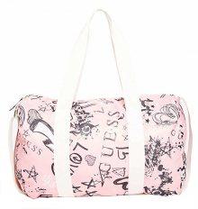 Guess Dámská taška Factory Women`s Graffiti-Print Duffle Bag
