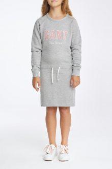 ŠATY GANT D1. NEW HAVEN SWEAT DRESS