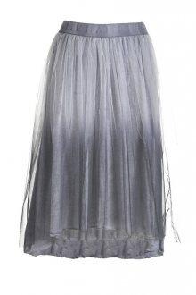 Deha Dámská sukně Tulle Skirt B64156 Silver Lavander L