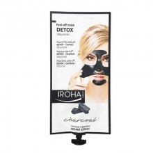 Iroha Čisticí slupovací maska s dřevěným uhlím (Detox Peel-Off Mask Charcoal) 18 g