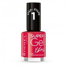 Rimmel Gelový lak na nehty Super Gel (Nail Polish) 12 ml 001 Top Coat - No Light