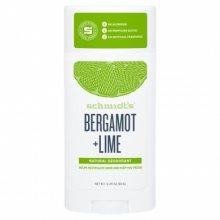 Schmidt´s Tuhý deodorant bergamot + limetka (Signature Bergamot + Lime Deo Stick) 58 ml