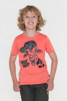 Sam 73 Chlapecké triko s krátkým rukávem Sam 73 oranžová 116