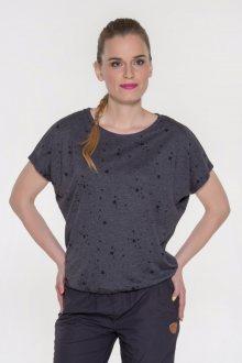 Sam 73 dámské triko s krátkým rukávem fialová tmavá S