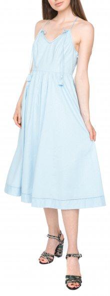 Dobby Šaty Juicy Couture | Modrá | Dámské | M