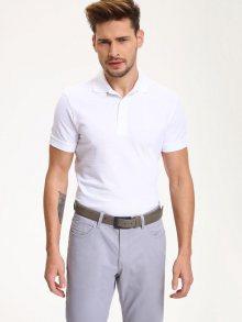 Polo tričko bílá M