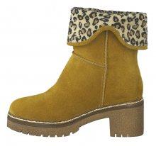 Tamaris Dámské kotníkové boty 1-1-26981-33-646 Curry 36