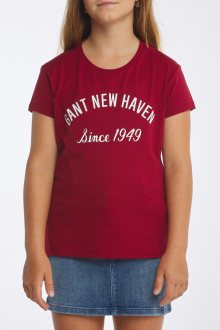 TRIČKO D1. GANT NEW HAVEN SS T-SHIRT
