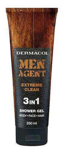 Dermacol Sprchový gel pro muže 3v1 Extreme Clean Men Agent (Shower Gel) 250 ml