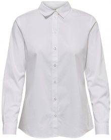 Jacqueline de Yong Dámská košile Mio L/S Shirt Wvn Noos White 36