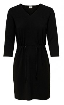 Jacqueline de Yong Dámské šaty JDYDAKOTA 3/4 DRESS JRS Black XS