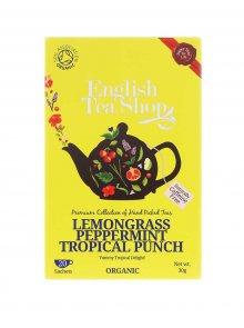 Čaj English Tea Shop Citronová Tráva, Mango & Tropické Ovoce Bio