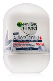 Garnier Kuličkový antiperspirant Mineral Action Control + Clinically Tested 50 ml