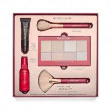 Revolution Kosmetická sada Highlight & Glow Kit