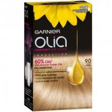 Garnier Permanentní olejová barva na vlasy bez amoniaku Olia - SLEVA - poškozená krabička 7.4 intenzivní měděná