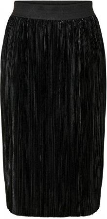 Jacqueline de Yong Dámská sukně JDYLINEA SKIRT JRS Black M
