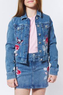 BUNDA GANT TG. THE EMBROIDERED DENIM JACKET