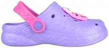 Coqui Dětské pantofle Hoppa Lt. Lila/Dk. Pink 9381-100-0200 25-26