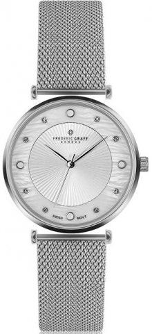 Frederic Graff Silver Jungfrau Lychee Silver Mesh FBR-2518