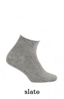 Wola Comfort Kids W34.028 Bamboo 6-11 Lat  Hladký dětské ponožky 27-29 milka/odstín fialové