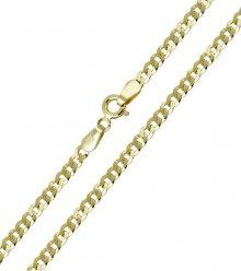 Brilio Zlatý dámský náramek 18 cm 261 115 00314