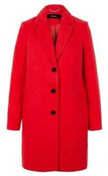 Vero Moda Dámský kabát VMCALA CINDY AW19 3/4 JACKET BOOS Chinese Red S