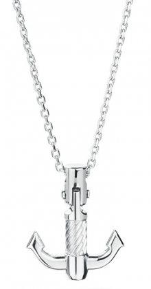 Brosway Pánský ocelový náhrdelník s kotvou Bounty BOU02