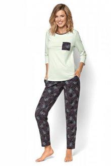 Nipplex By Night Luciana dámské pyžamo M grafitová (tmavě šedá)