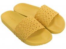 Zaxy žluté pantofle Snap Mesh Slide Fem Yellow - 35/36