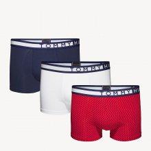 Tommy Hilfiger barevný 3 pack pánských boxerek 3P Trunk Print - XXL